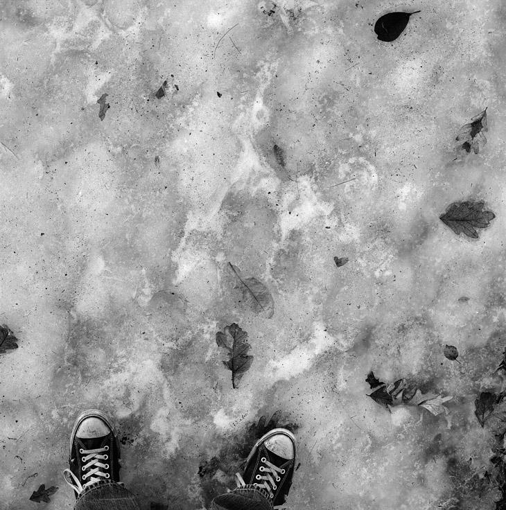 ice, leaf, and chucks