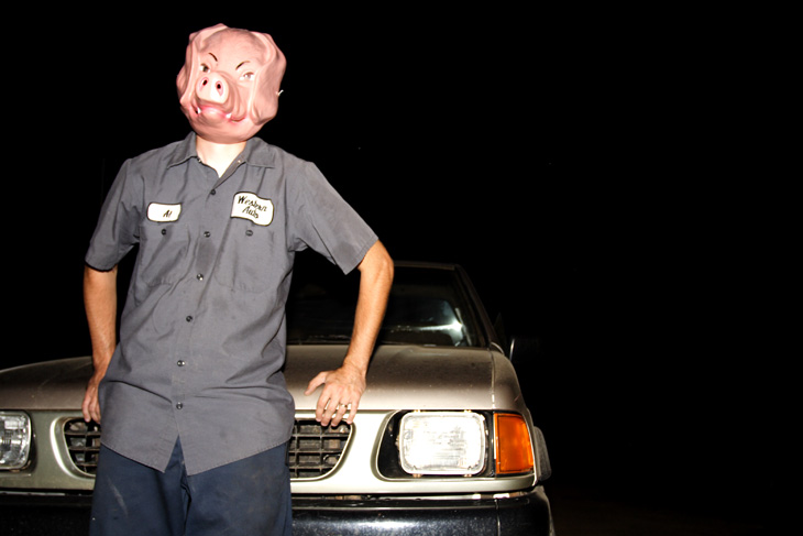 when pigs drive